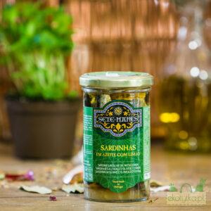 Sete Mares Sardynki w oliwie z oliwek z cytryną